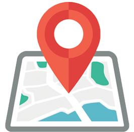 Интересные места на карте Санкт-Петербурга