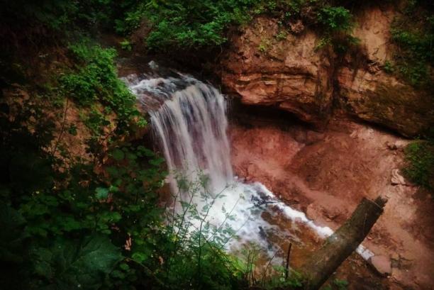 Горчаковщинский водопад и Любшанская крепость