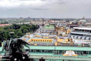 Необычные экскурсии по СПб - крыши города