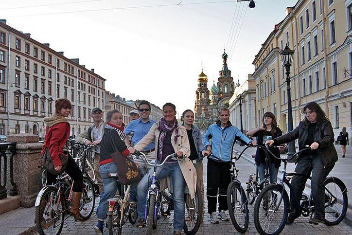 Велосипедные экскурсии по СПб
