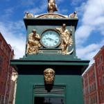 Метеорологический павильон-памятник с часами
