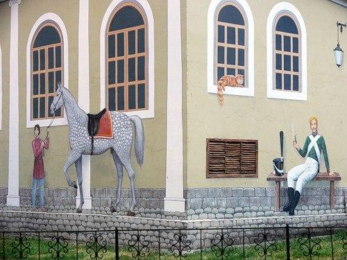 Гвардейский дворик