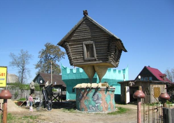 Избушка Бабы-Яги в Ульяновке