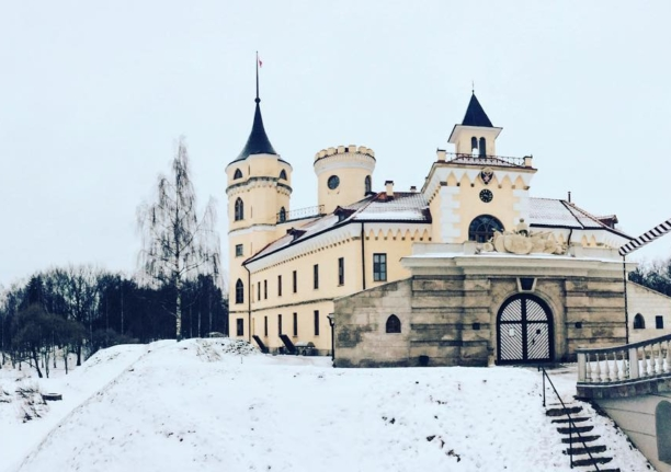 Замок БИП в Павловске
