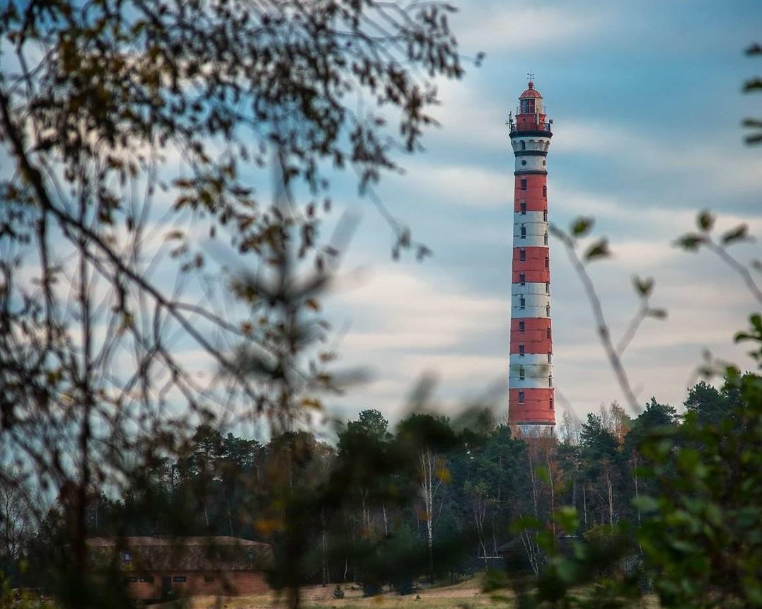 Осиновецкий маяк на Ладожском озере