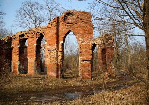 Баболовский дворец и Царь-ванна
