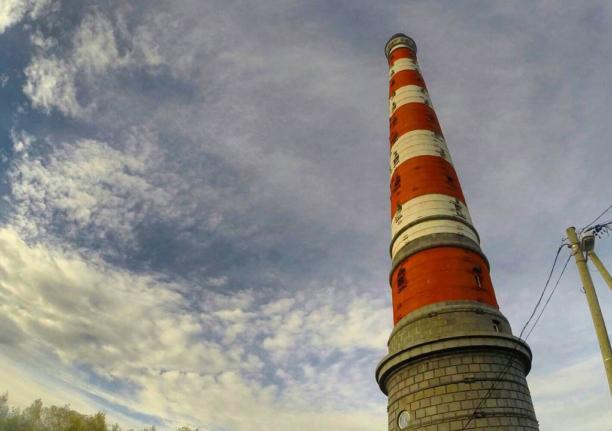 Стороженский маяк на Ладожском озере