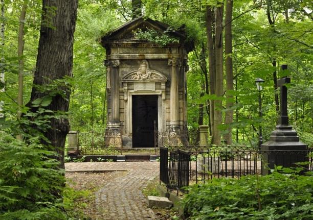 Смоленское кладбище и часовня Ксении Блаженной