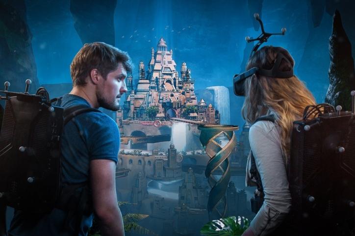 Аттракцион виртуальной реальности Anvio VR