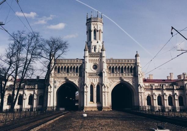 Вокзал станции Новый Петергоф